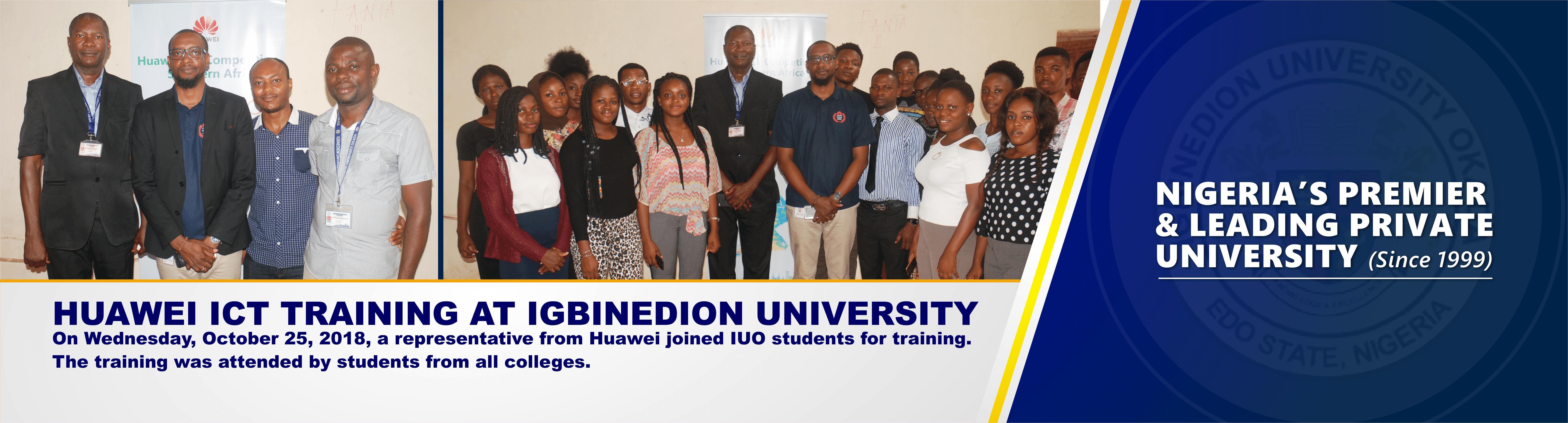 Igbinedion University Huawei Training