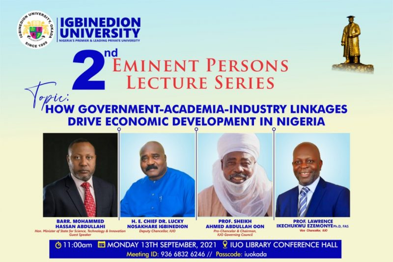 Eminent Persons Lecture