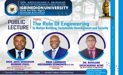 ENGINEERING PUBLIC LECTURE